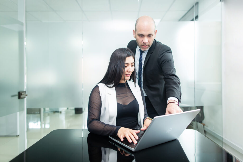 A Biz Latin Hub stock image of professionals working in an office, representing an accountant in Argentina