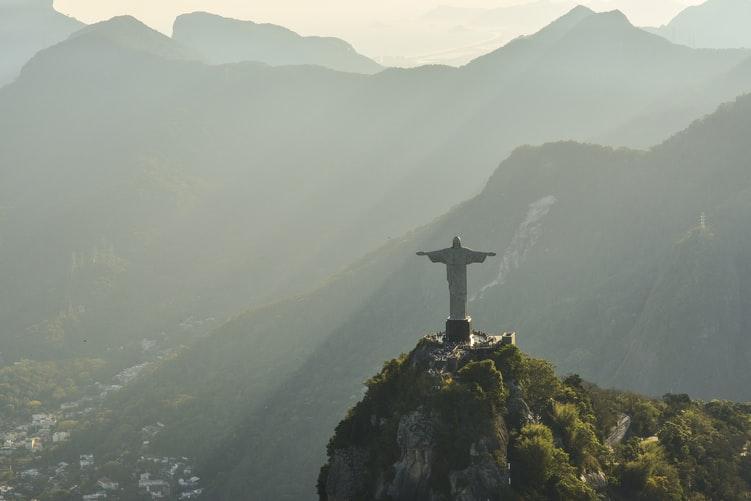 A photo of Rio de Janeiro in Brazil, where filing taxes can be complex