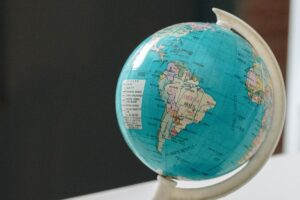 Photo of a globe to accompany Business as usual in Latin America survey article
