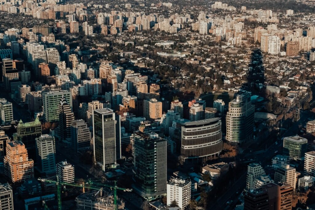 Santiago the capital of Chile which is expected to see significant growth according to the World Banks new Latin America growth forecast