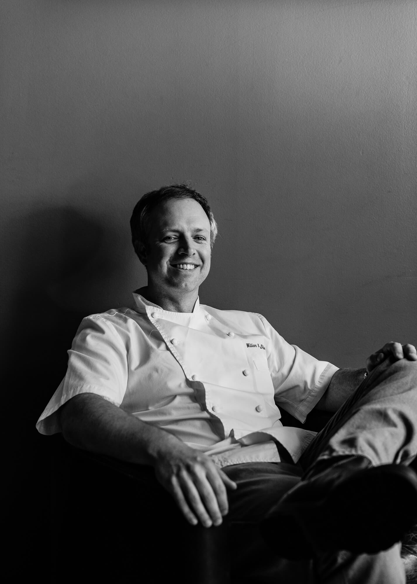 chef william dissen at the market place