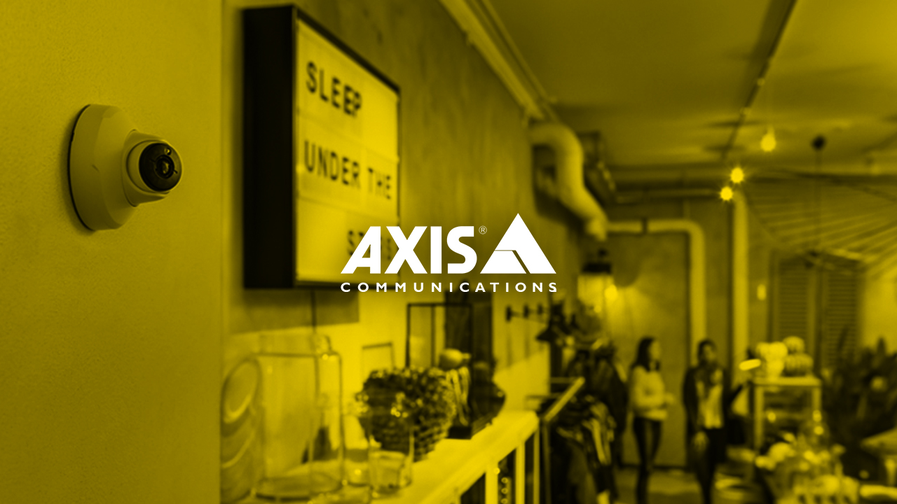 Axis: The Benefits of Using Video Surveillance in Small Businesses