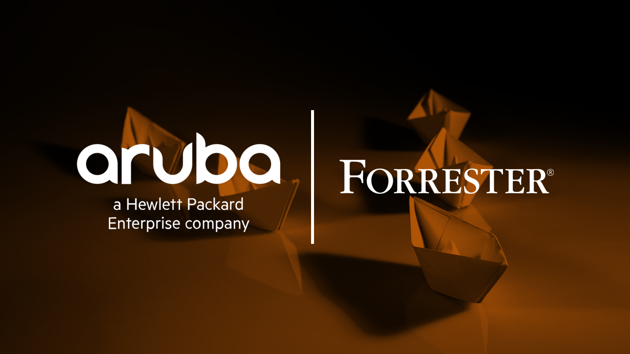 Aruba Named As the Sole Leader in the Forrester New Wave