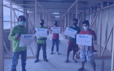 MEC Gives Back: Supporting the Emergency Quarantine Facilities of Cardinal Santos Medical Center