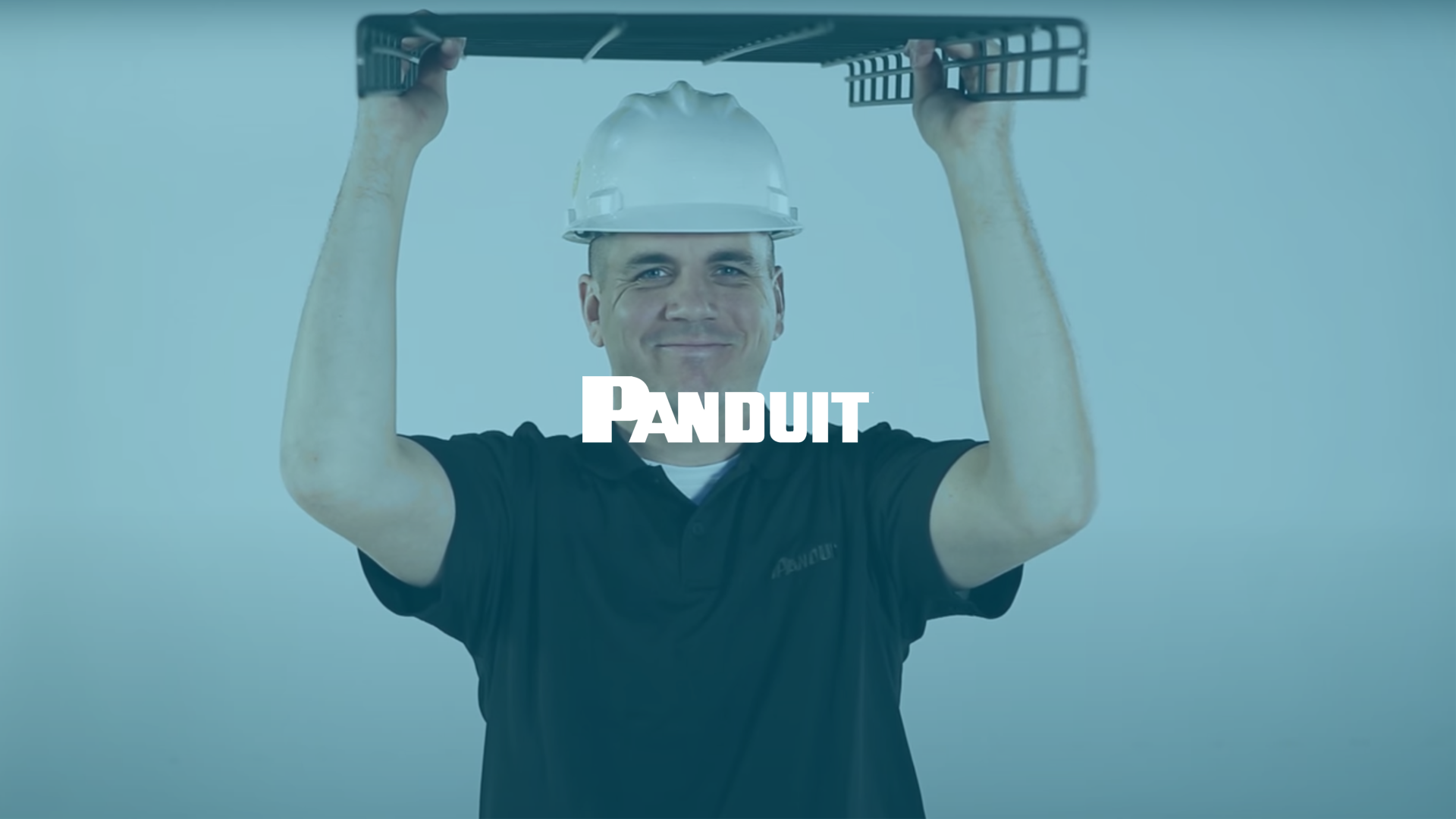 Panduit's Upside Down Wire Mesh Cable Tray Benefits