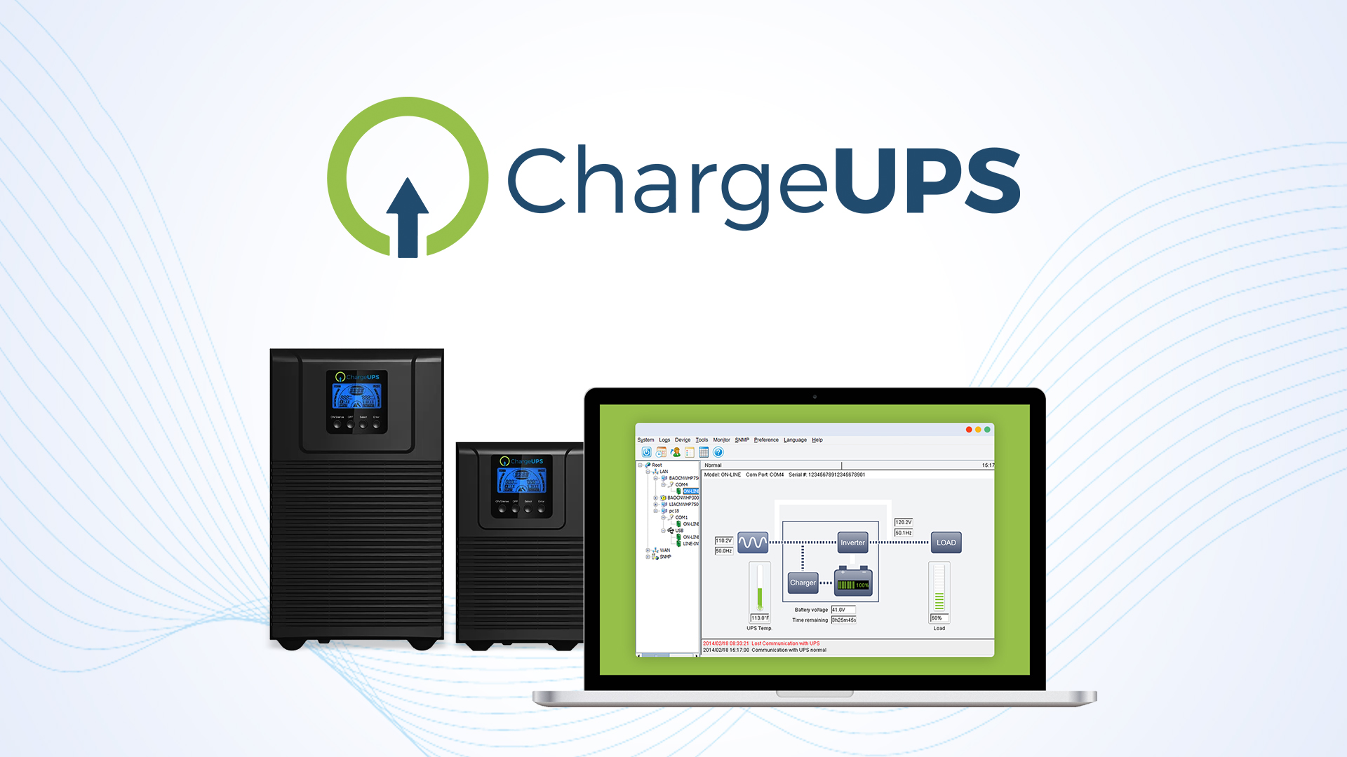 ChargeUPS Winpower Software