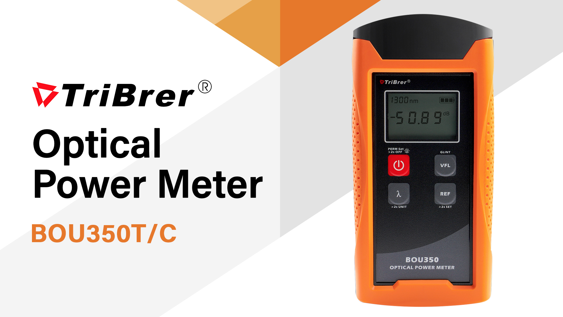 TriBrer BOU350 Optical Power Meter