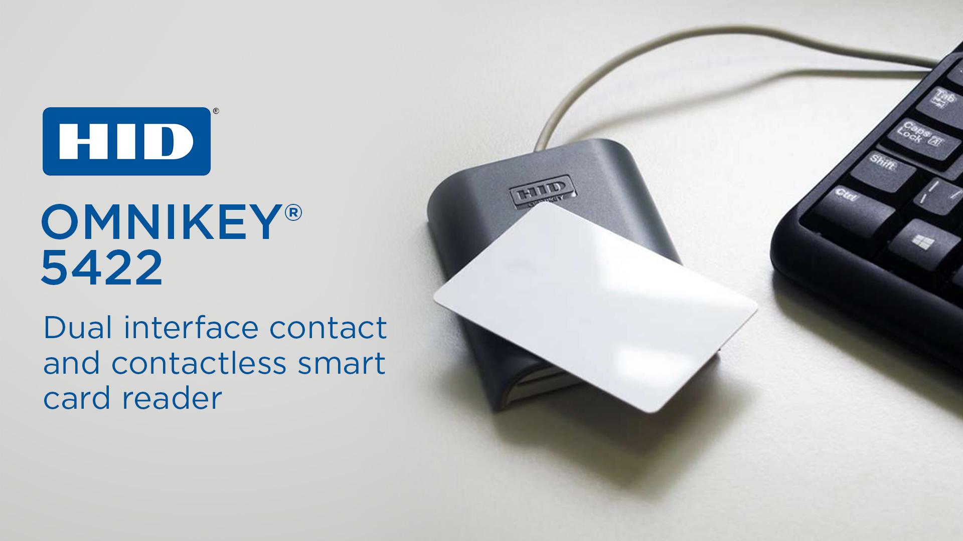 HID Omnikey 5422 Dual Interface Reader
