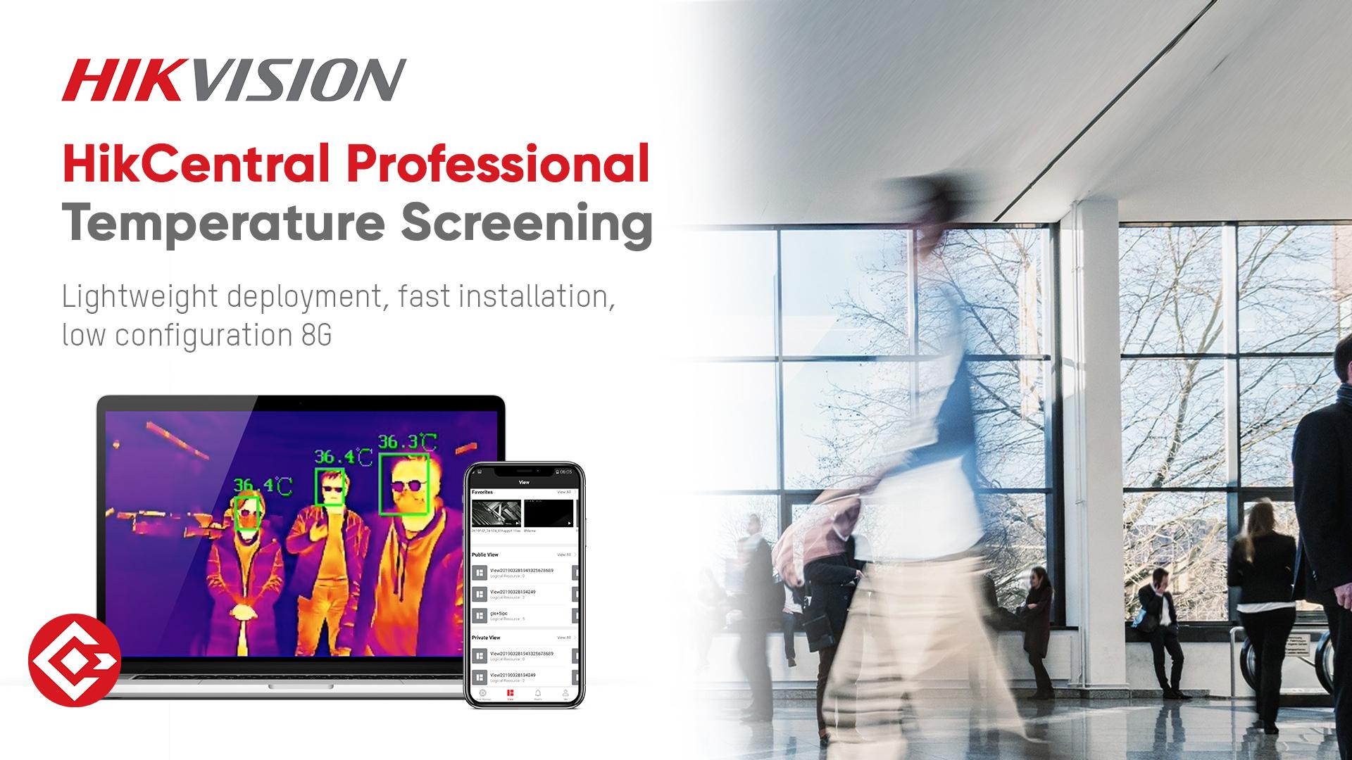 Hikvision HikCentral Professional Temperature Screening