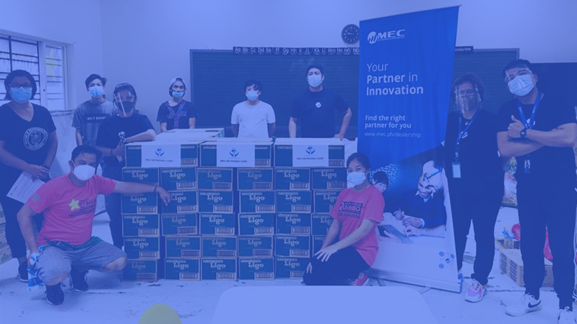 MEC Gives Back: Donation Drive for Typhoon Victims in Marikina