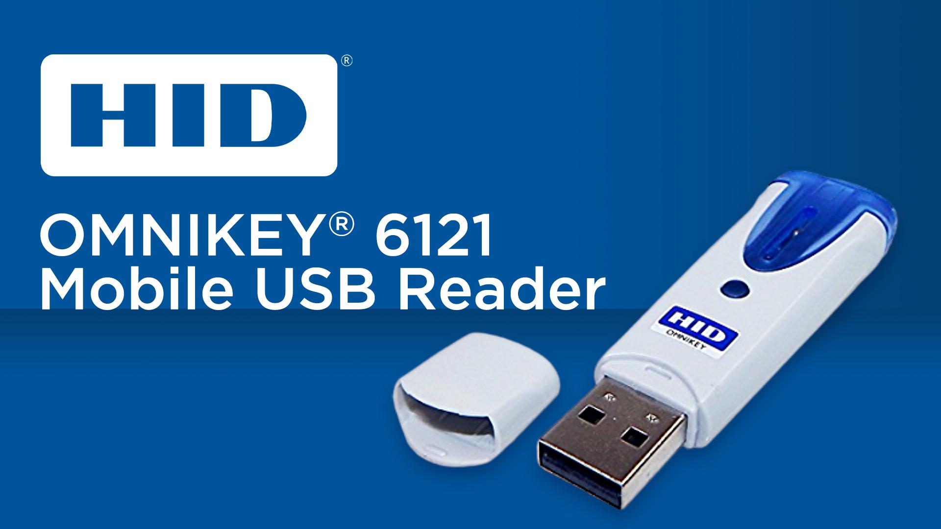 HID Omnikey 6121 Mobile USB Reader