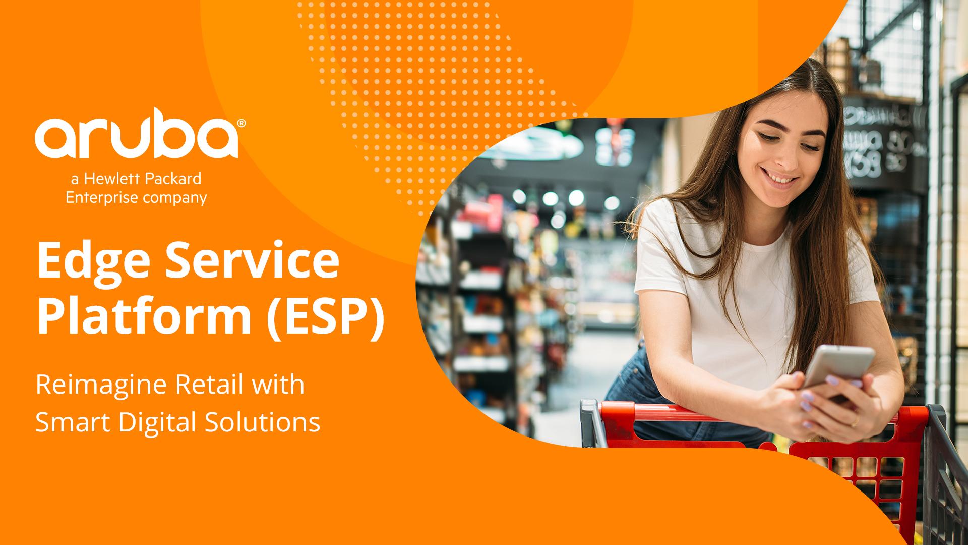 Aruba Edge Service Platform in Retail