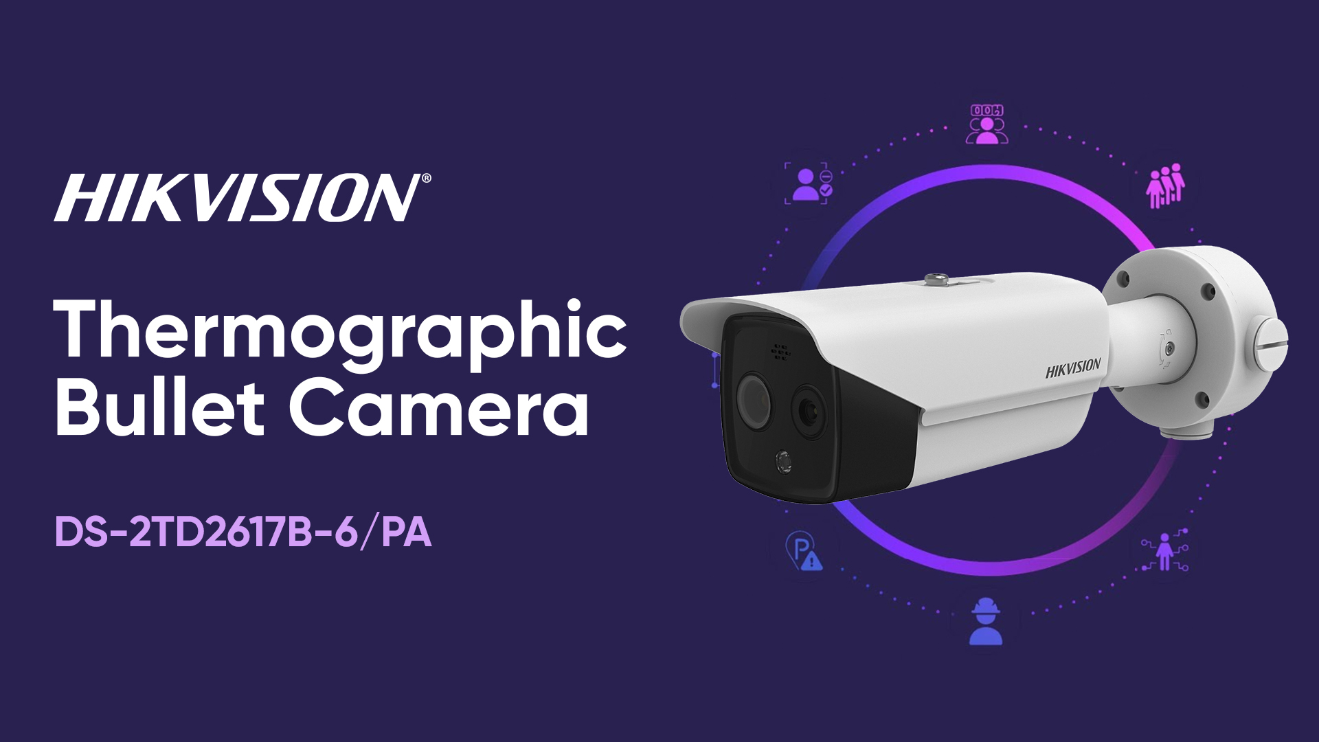 Hikvision Thermographic Bullet Camera