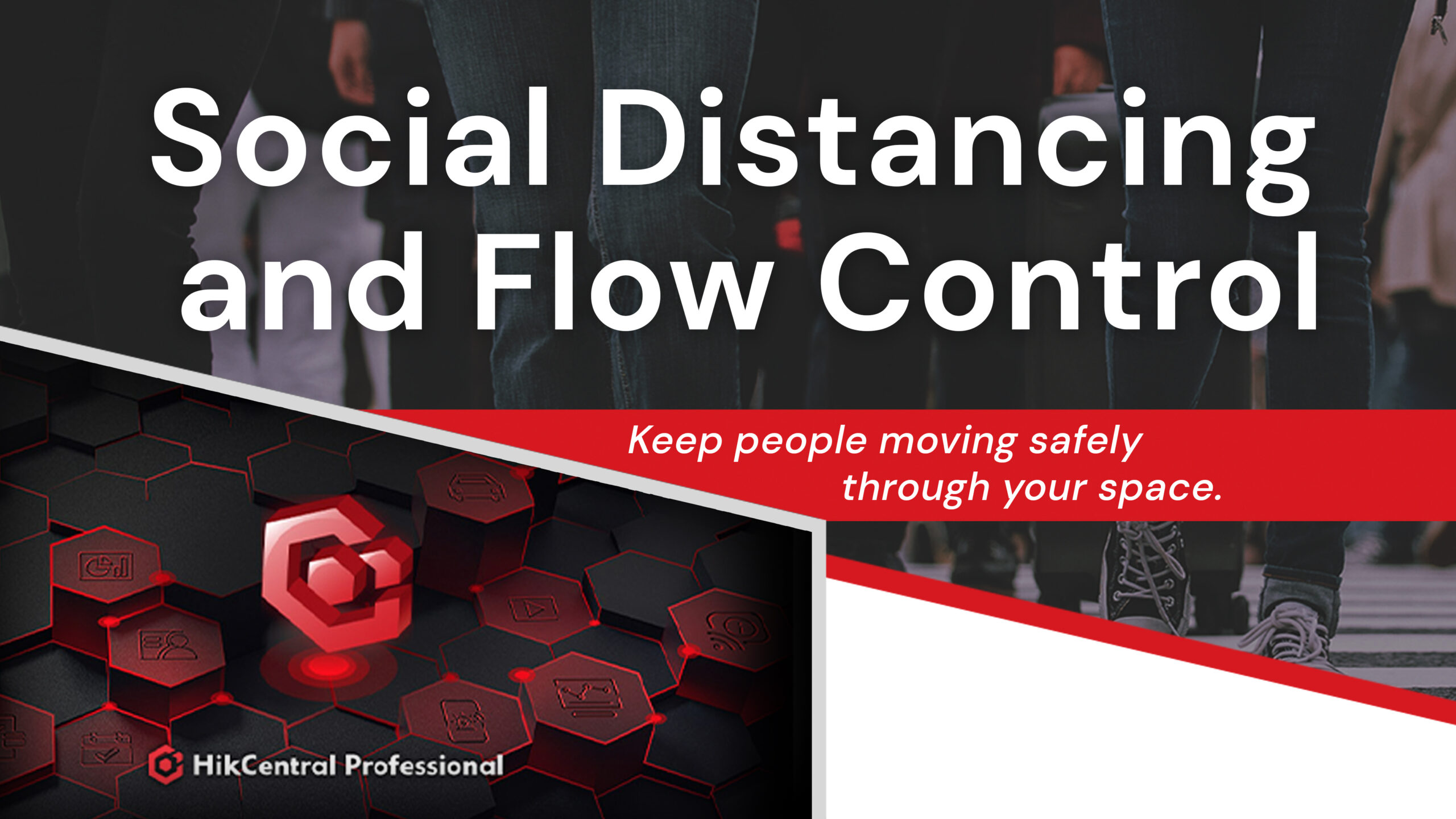Hikvision Social Distancing and Flow Control Solutions