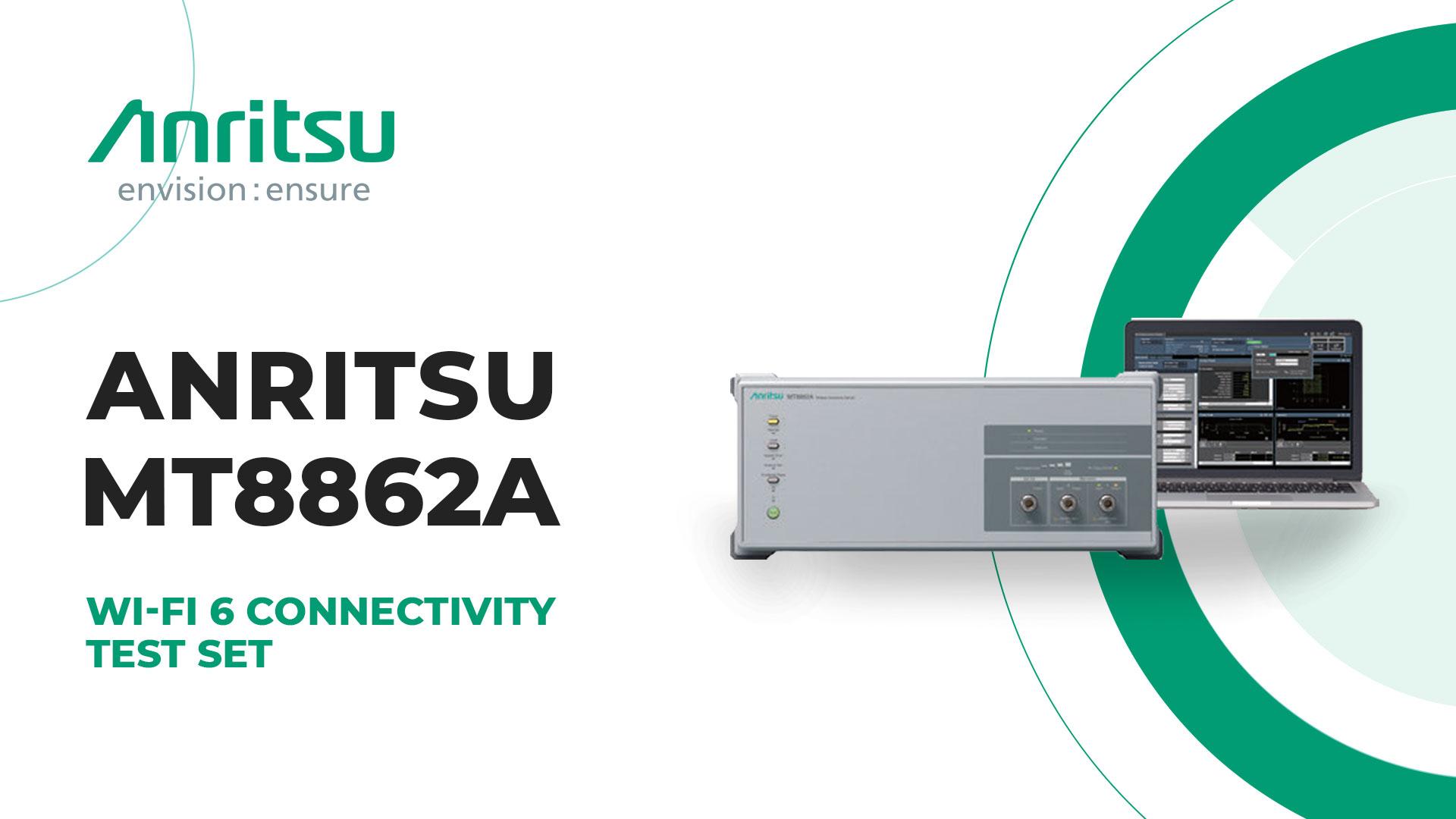 Anritsu MT8862A Wireless Connectivity Test Set