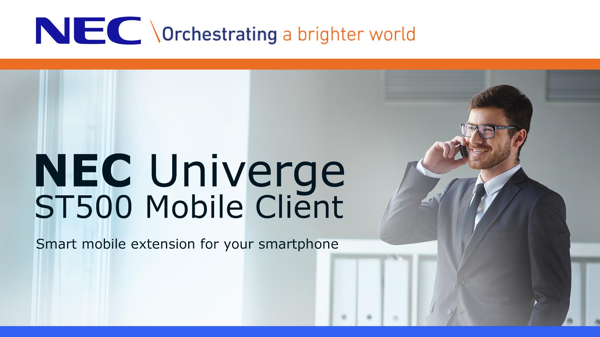 NEC Univerge ST500 Mobile Client