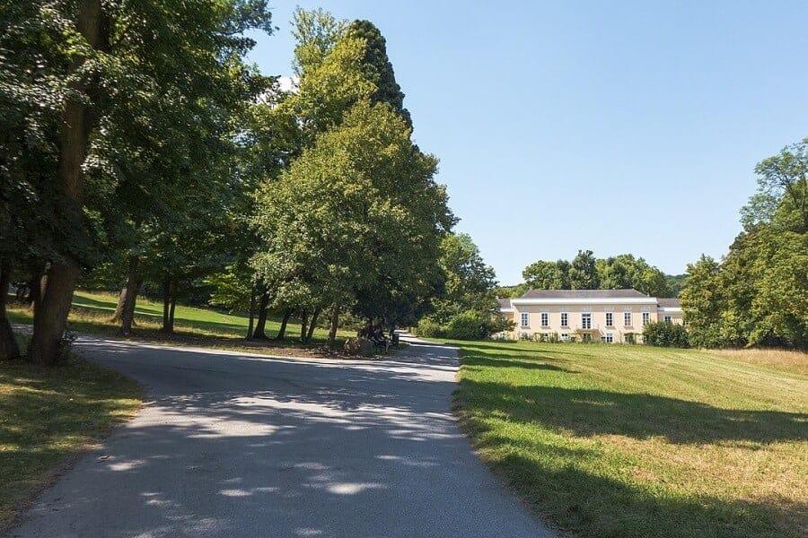 Pötzleinsdorfer Schlosspark Park in Wien Meine Region
