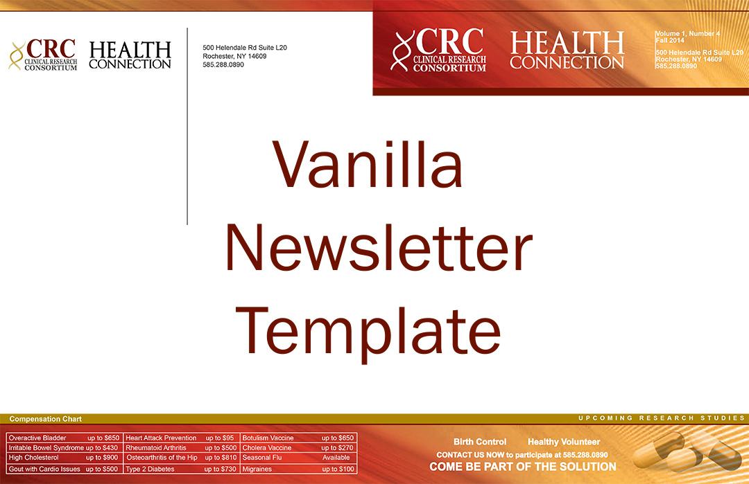 CRC-Vanilla-Newsletter