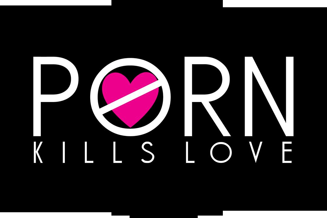 Porn Kills Love Sticker