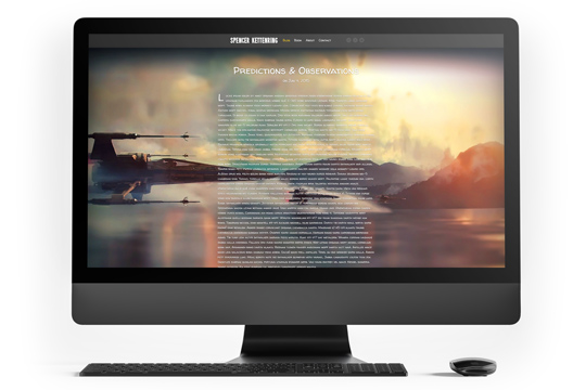 Spencer Kettenring Website