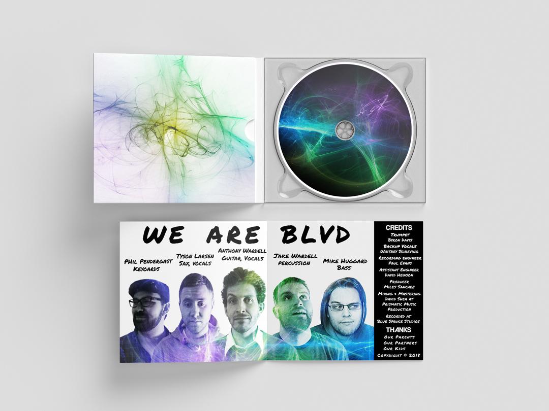 BLVD Album Inside