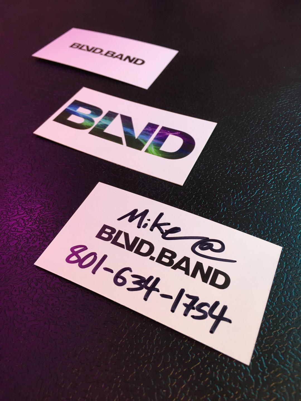 BLVD Business Cards