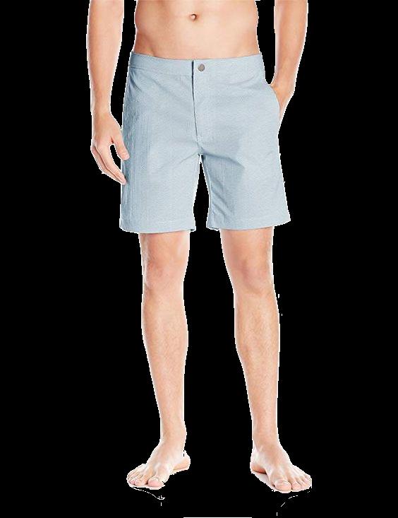 Onia Men's Calder 7.5 Inch Stretch Pattern Swim Trunk
