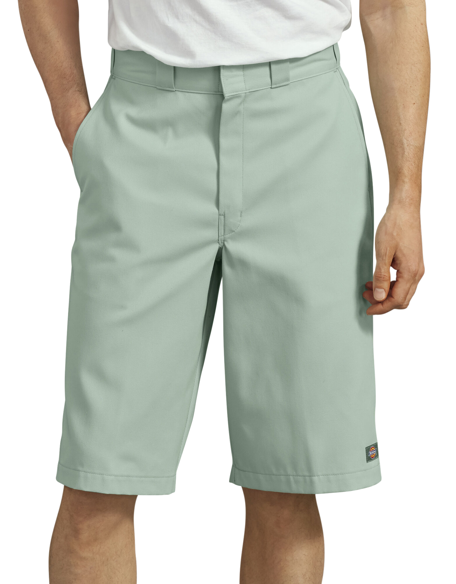 dickies harbor grey shorts
