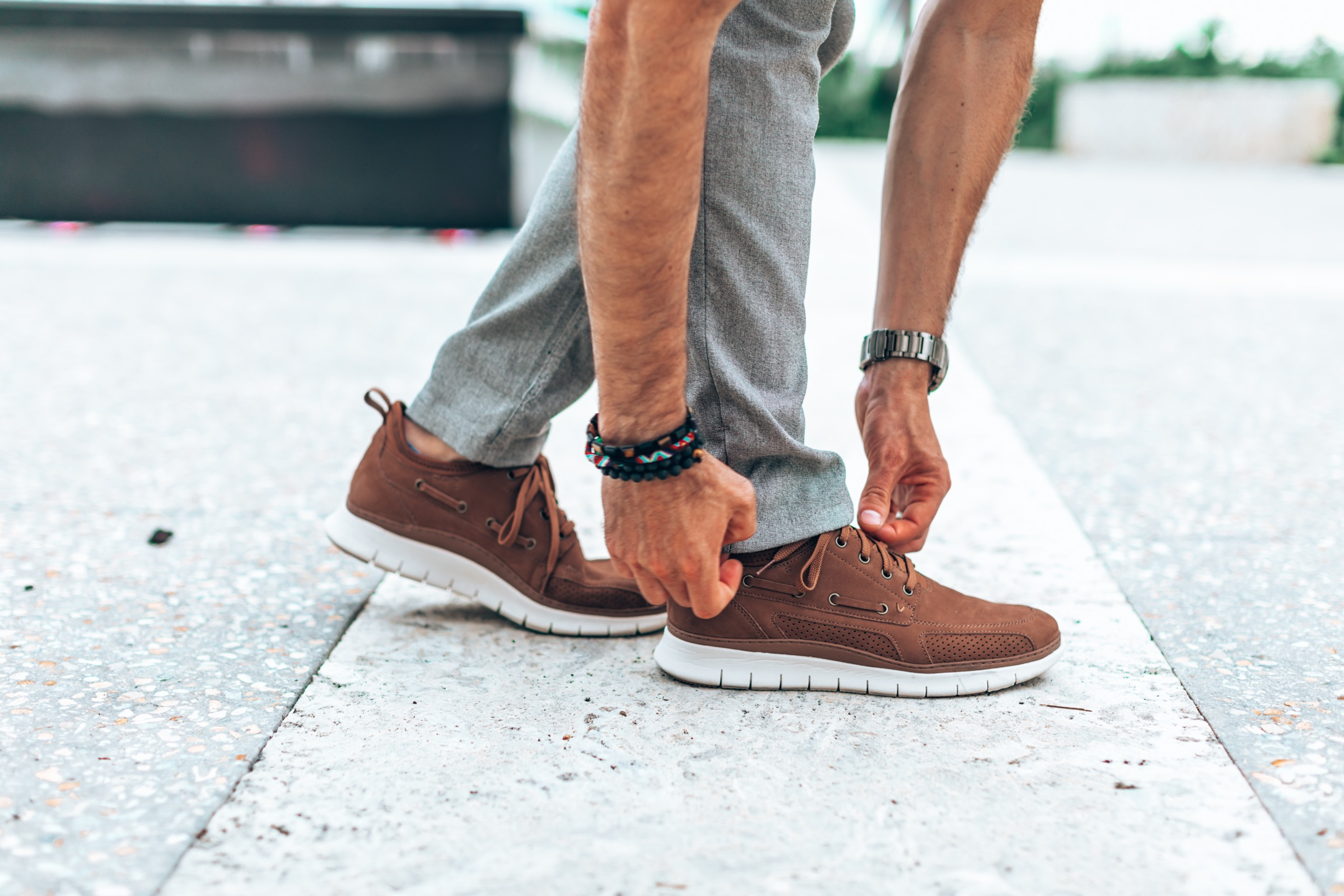 Casual Dress Shoes with Sneaker Soles