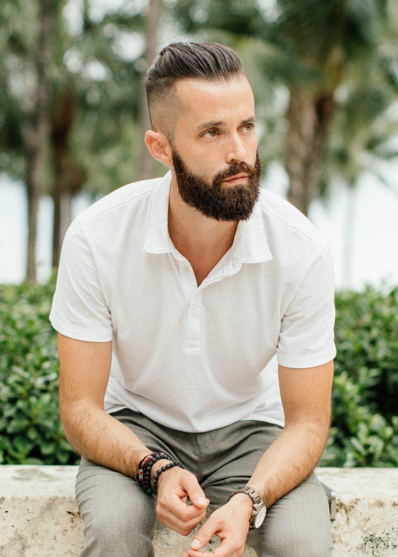Michael Checkers men's fashion influencer in Miami