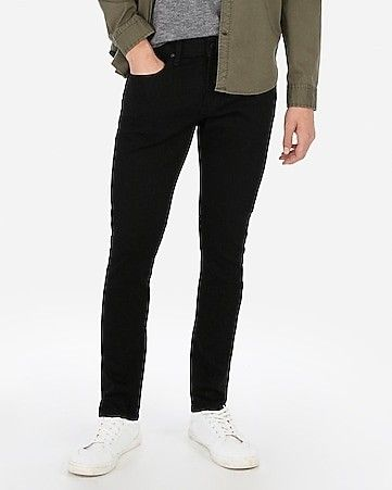 Skinny Black Hyper Stretch Jeans