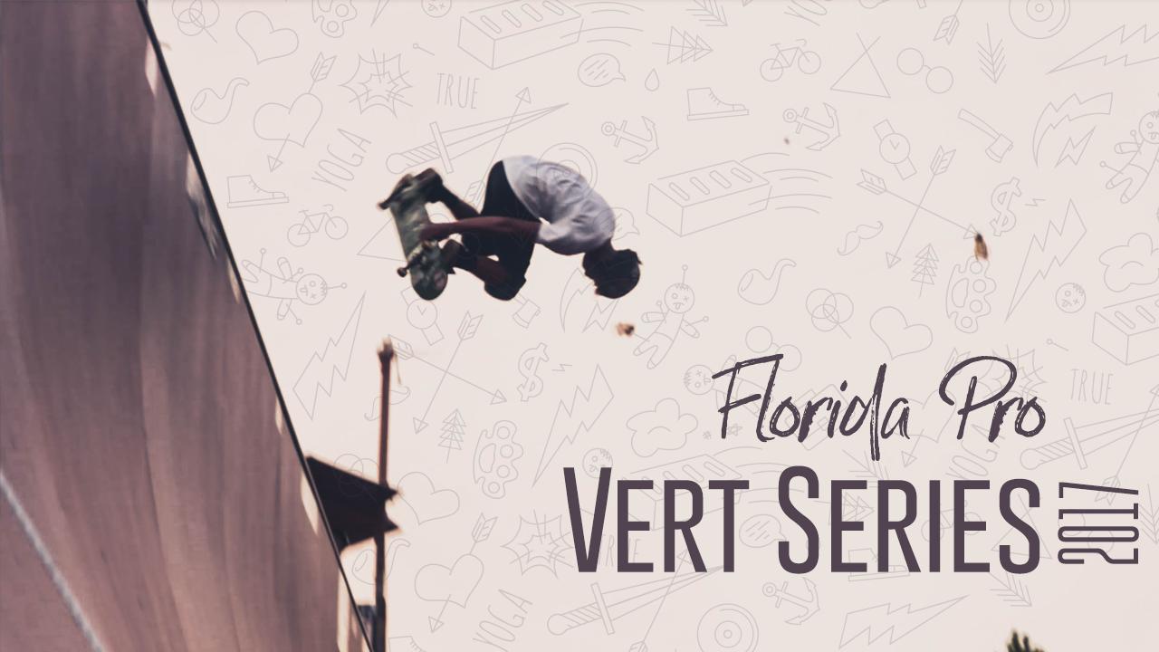 florida pro vert series event poster