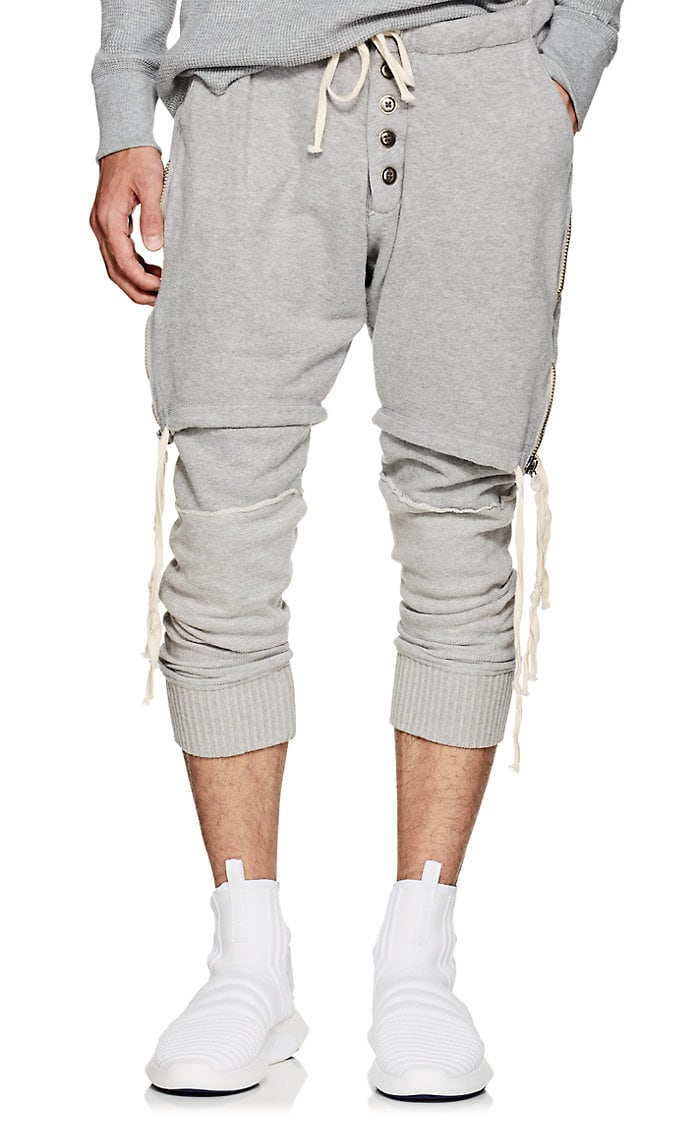 greg-lauren-layered-cotton-lounge-pants