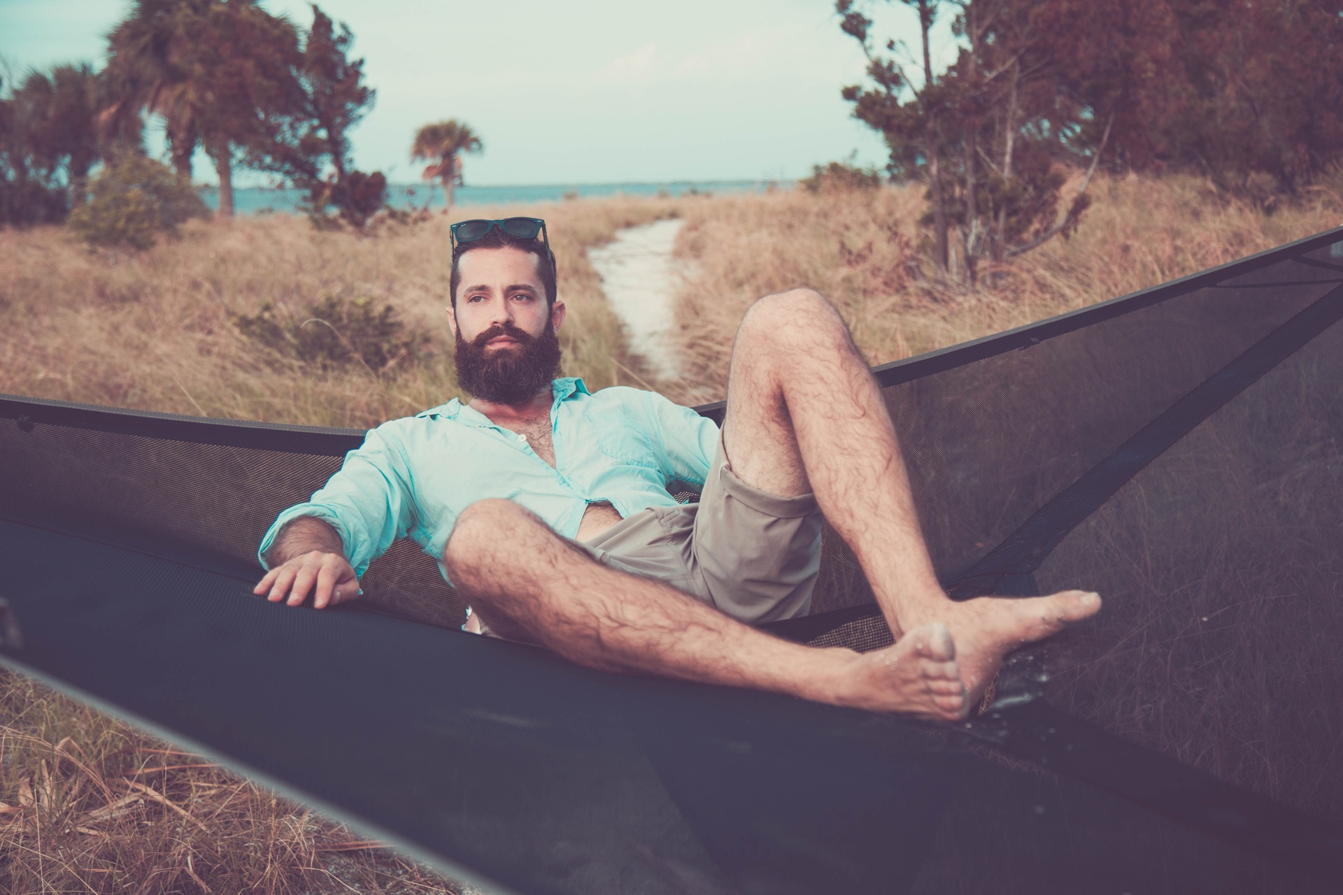 Tentstile hammock on an island