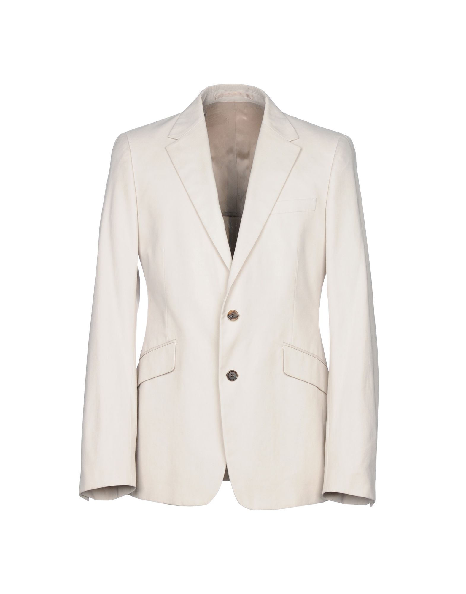beige or white cotton Prada blazer suit jacket