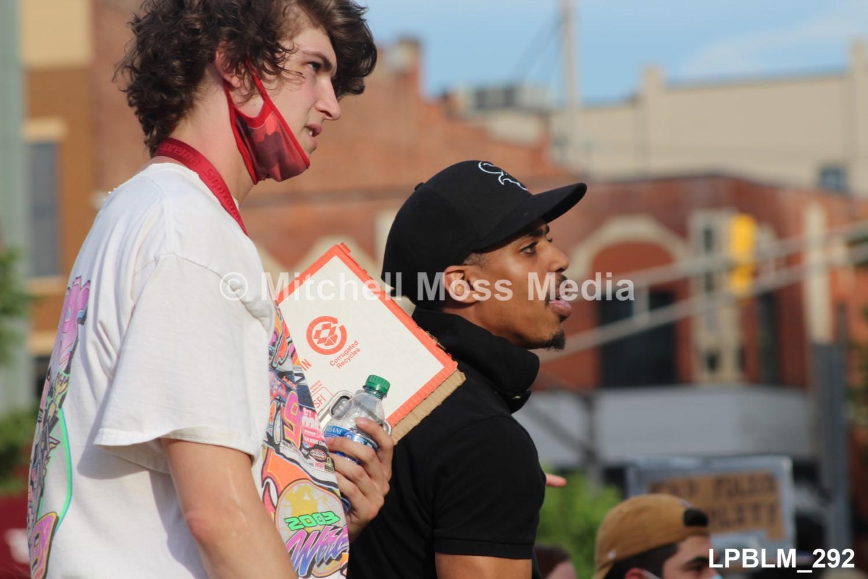LaPorte's Black Lives Matter Rally