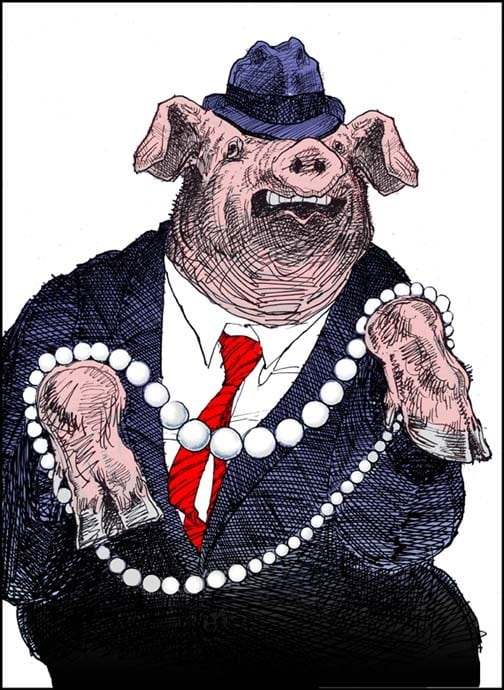What does it mean to throw pearls before swine and dogs?