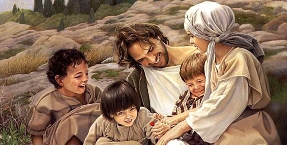 Isus și copiii