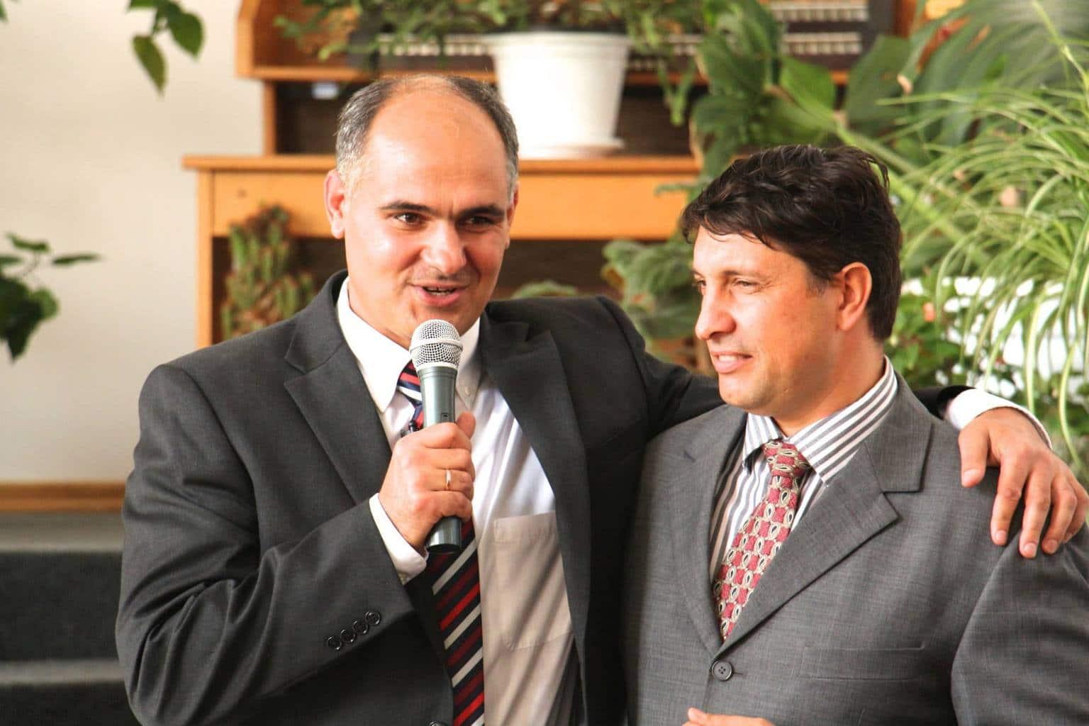 Pastorii Andrei Talmazan și Vasile Filat