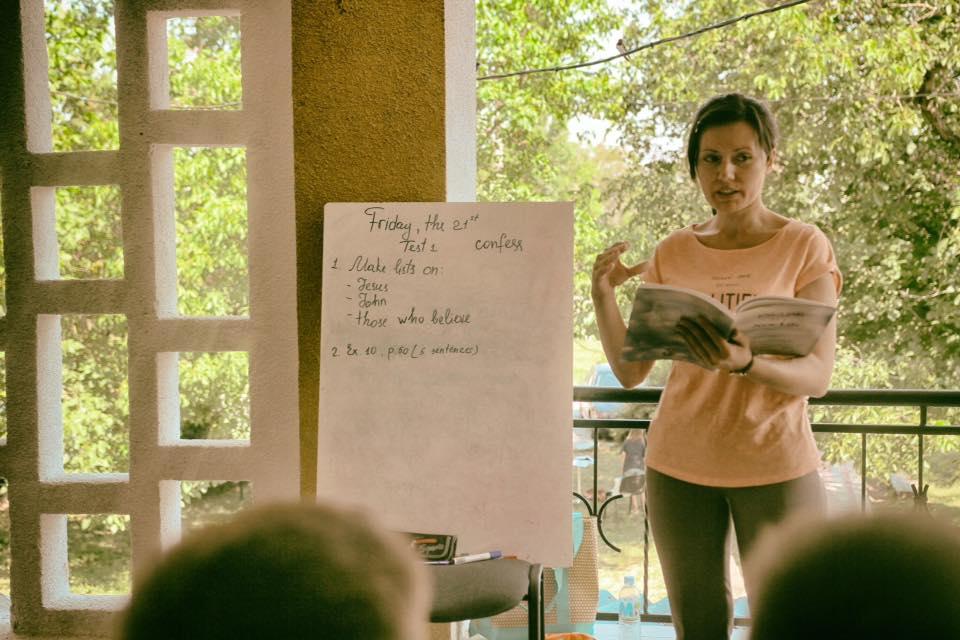 Aurica Guzun, cursuri de engleză în Drăsliceni, contacte