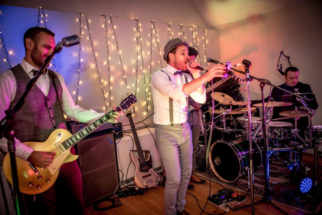 the fabulous feedback band at Monkton Barn