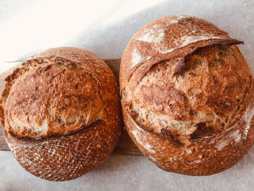 fresh bread at monkton barn