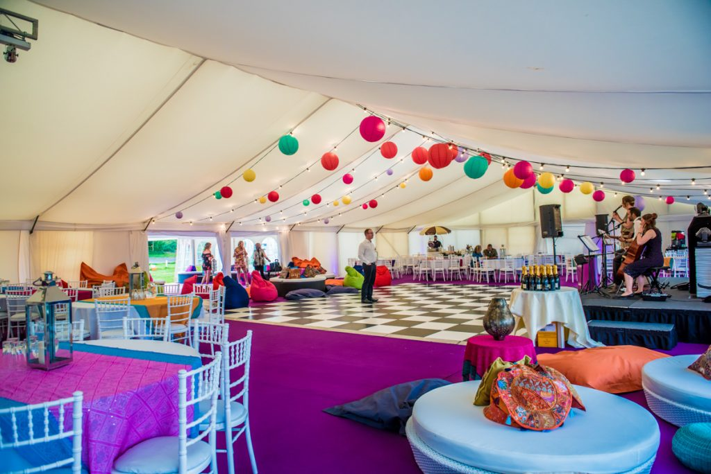 Large Clearspan Marquee at Monkton Barn