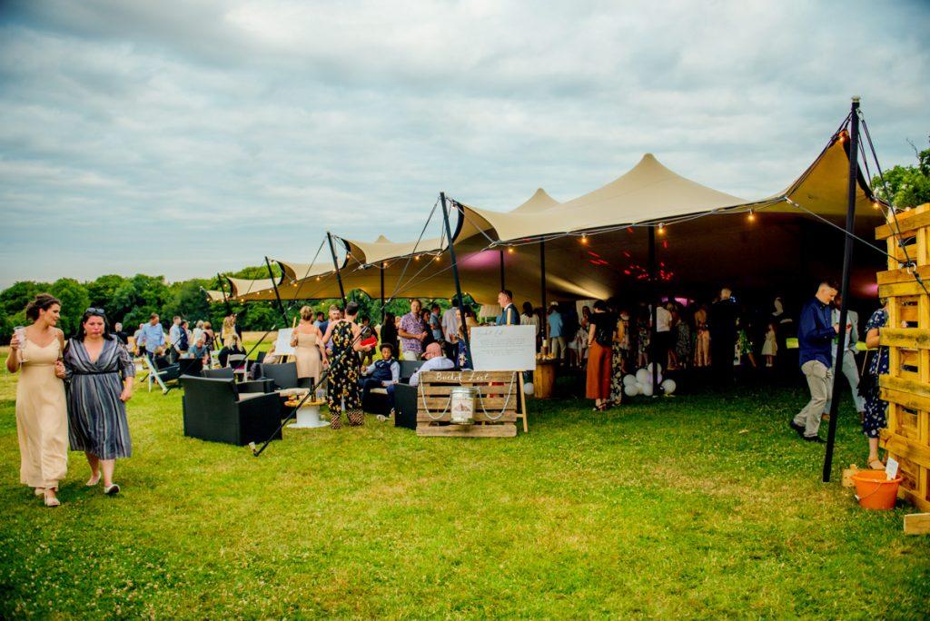 Tipi Festival Wedding at Monkton Barn