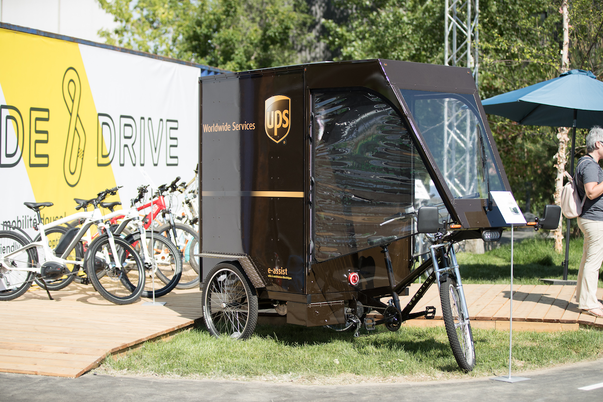 Last-mile delivery: a look into UPS's rolling laboratory