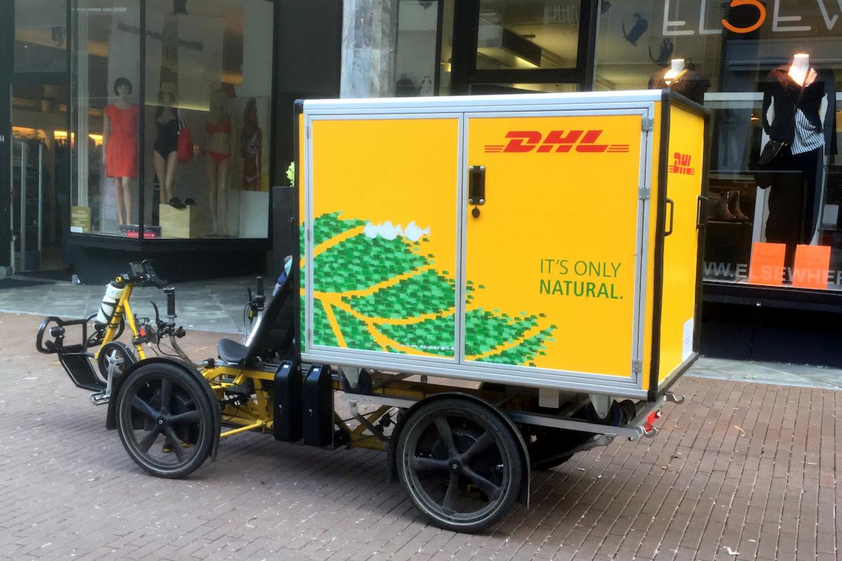 Bouffée d'air frais pour la livraison urbaine
