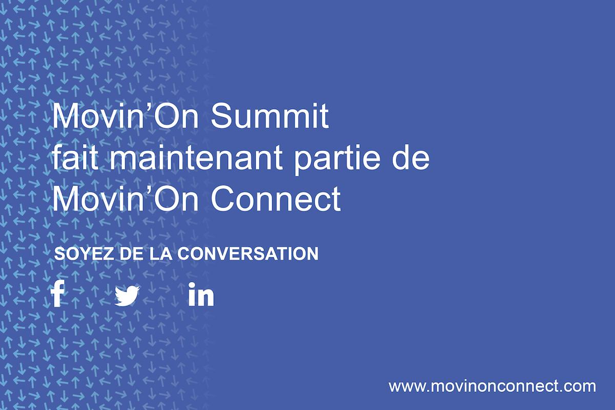 Movin'On Connect: votre référence en mobilité durable