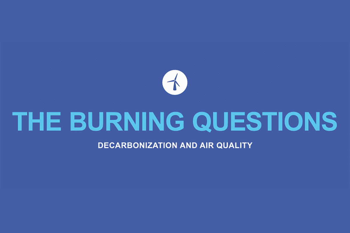 Burning questions: decarbonization and air quality