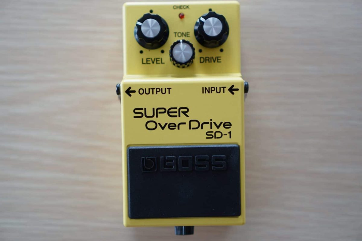 【機材レビュー】BOSS SD-1 SUPER OverDrive