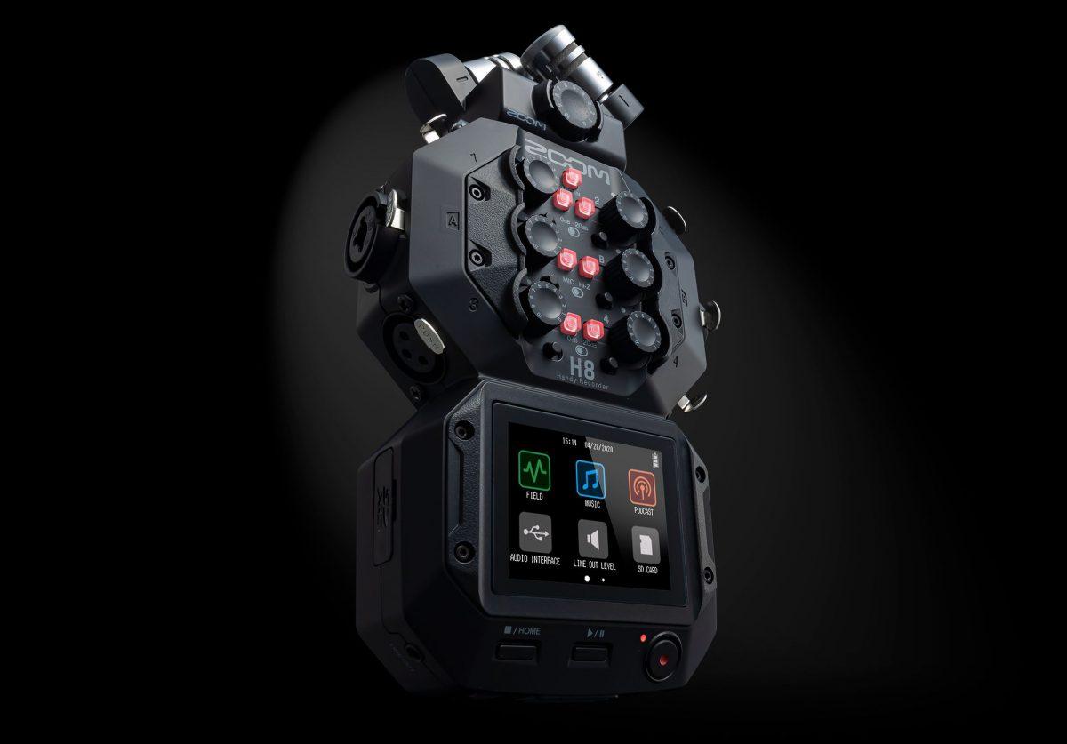 【ガジェットオタク大注目!】革新的なハンディレコーダー「ZOOM H8」はもうチェックした!?